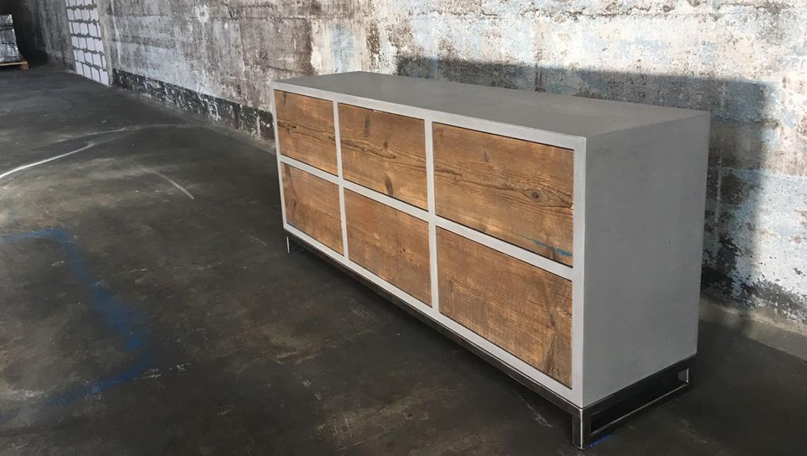 Beton Sideboard Berlin Six Box Betonmobel Manufaktur