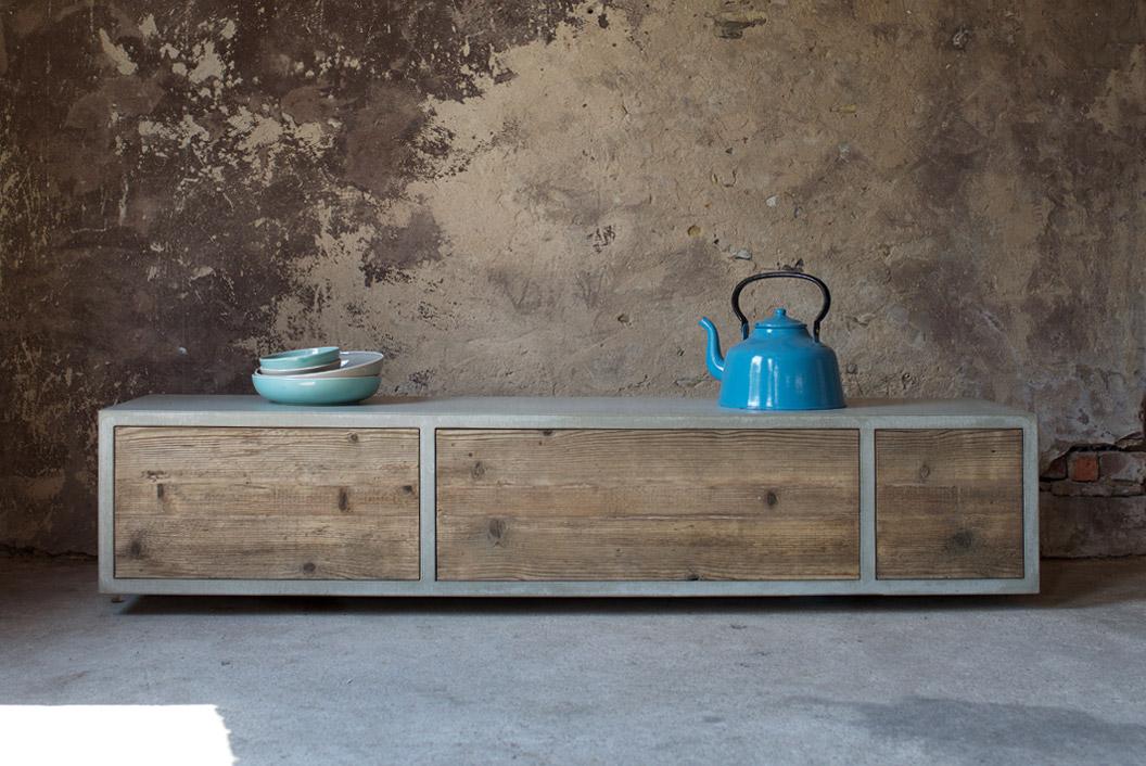 lowboard beton awesome excellent tvlowboard namona ii inkl beleuchtung matt wei beton dekor. Black Bedroom Furniture Sets. Home Design Ideas