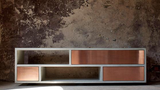 Buro Einrichtung Beton Holz Planen - Wohndesign -