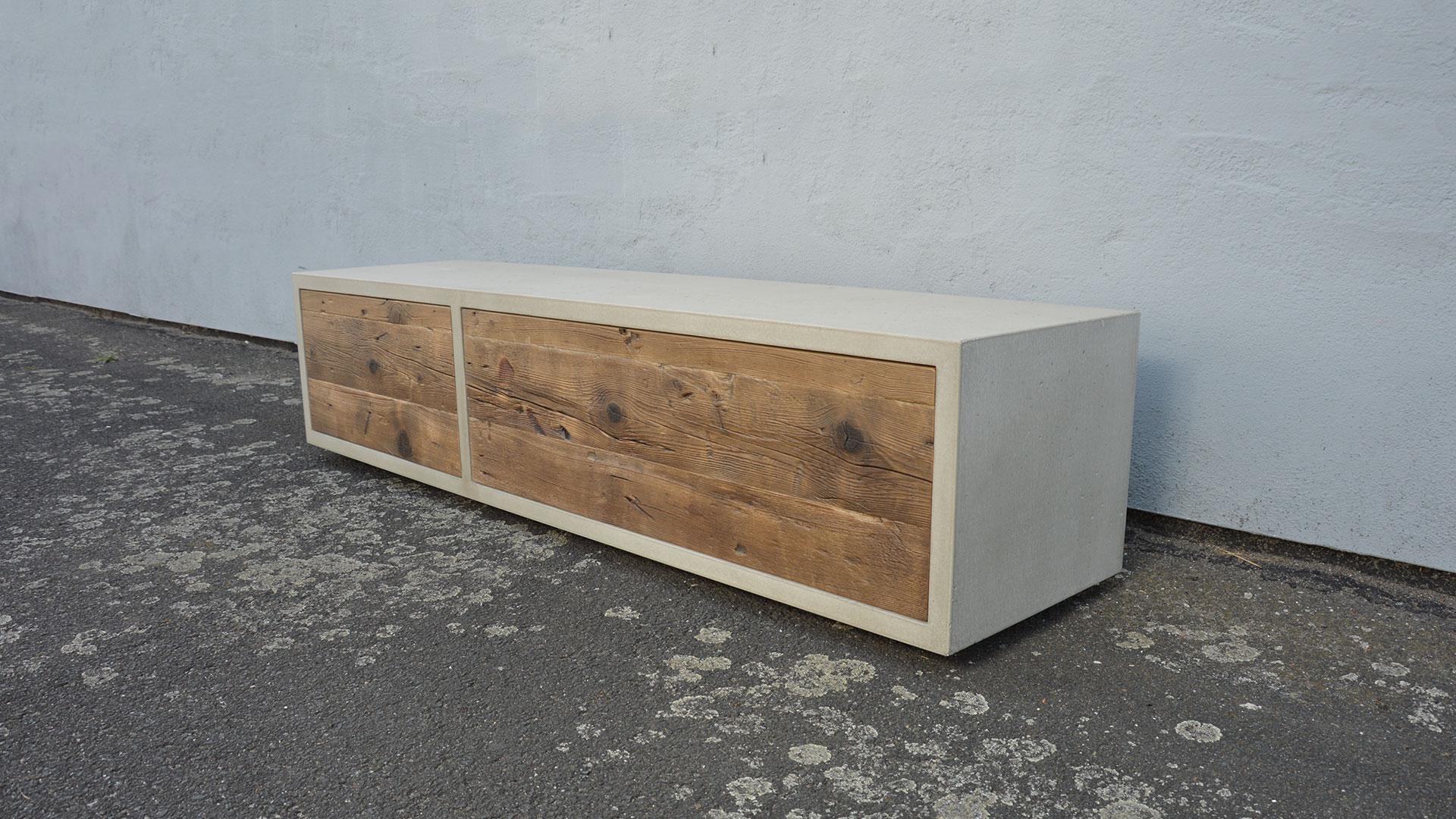 Beton Lowboard Mini Urban Box Betonmobel Manufaktur
