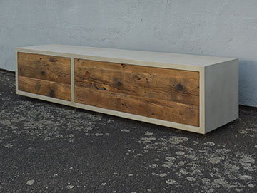 Beton-Lowboard Mini Urban Box