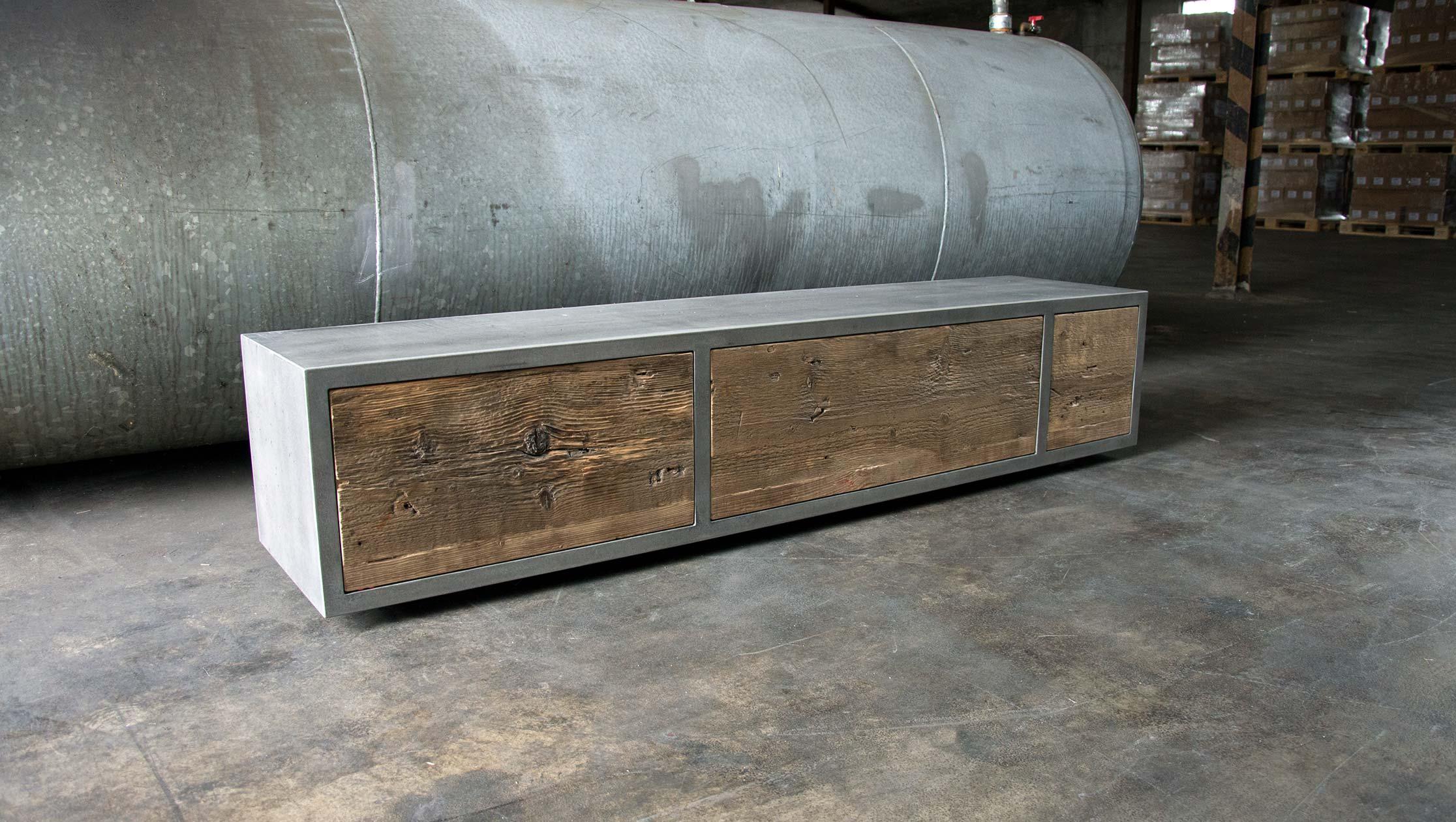 Beton Lowboard »UrbanBox« Betonmöbel Manufaktur